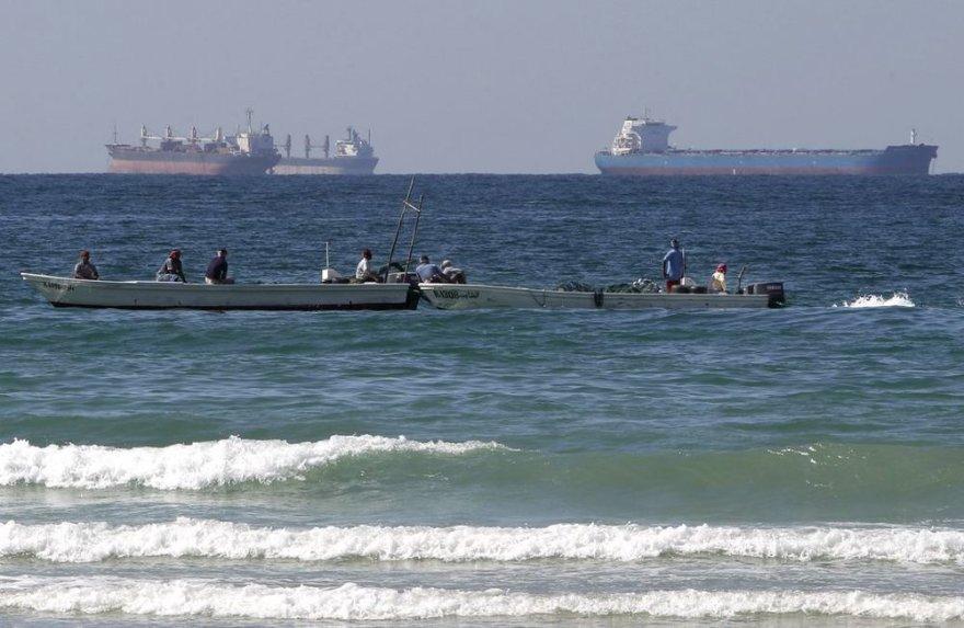 Корабли в Ормузском проливе