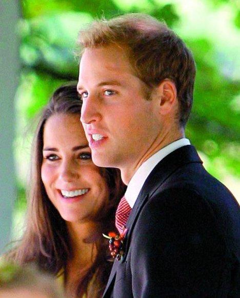 Кейт Миддлтон и принц Уильямс