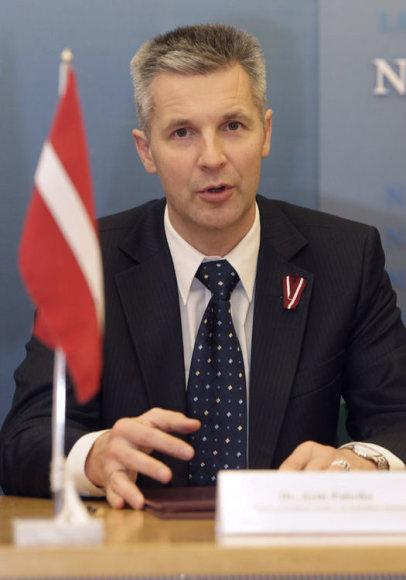 Министр обороны Латвии Артис Пабрикс