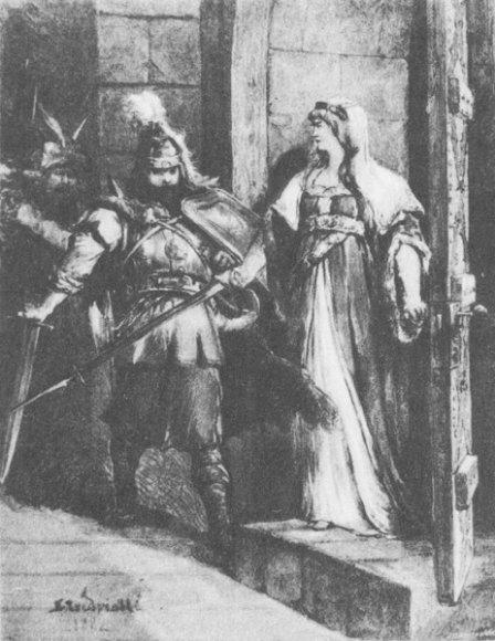 Didysis kunigaikštis Traidenis su žmona Anna Mazowiecka
