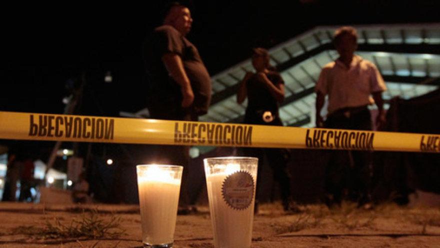 Очередная трагедия в Мексике.
