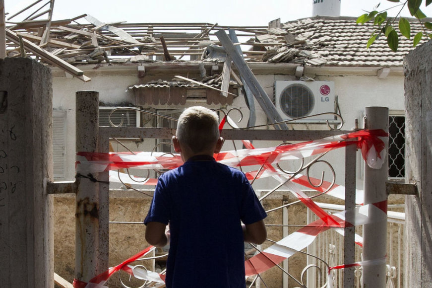 Разрушения в Израиле
