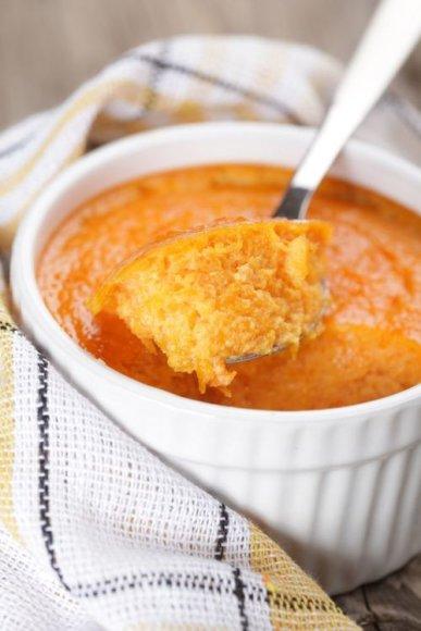 morkų suflė