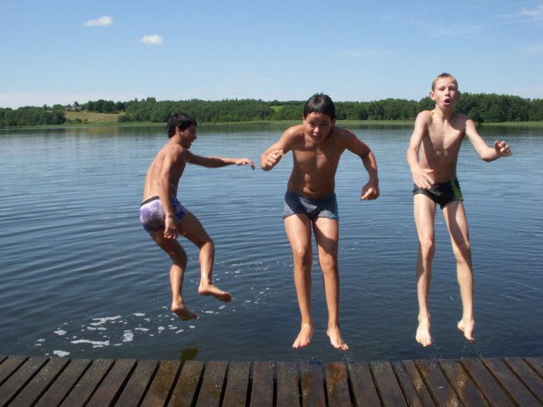Prie Švenčiaus ežero