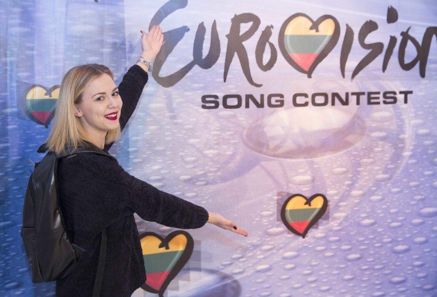 """Luko Balandžio/15min.lt nuotr./Pirmosios """"Eurovizijos"""" atrankos laidos akimirka"""