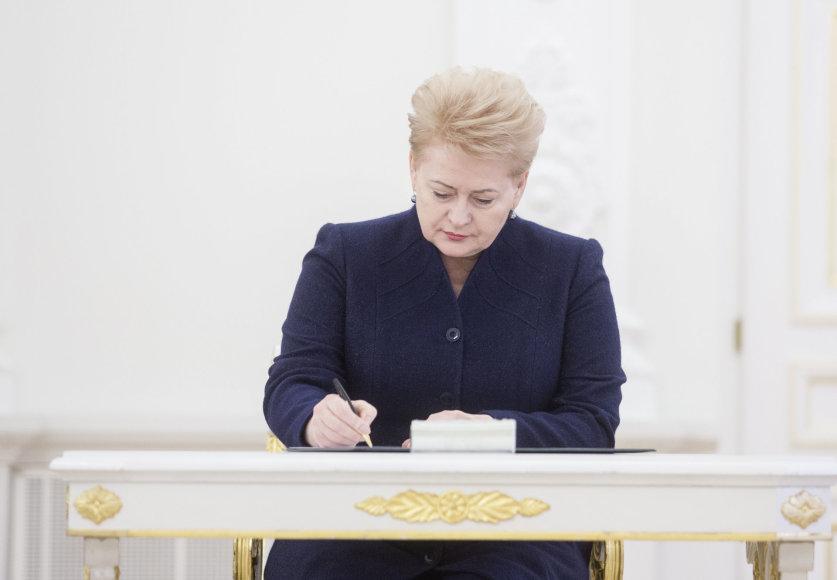 Luko Balandžio/15min.lt nuotr./Dalia Grybauskaitė