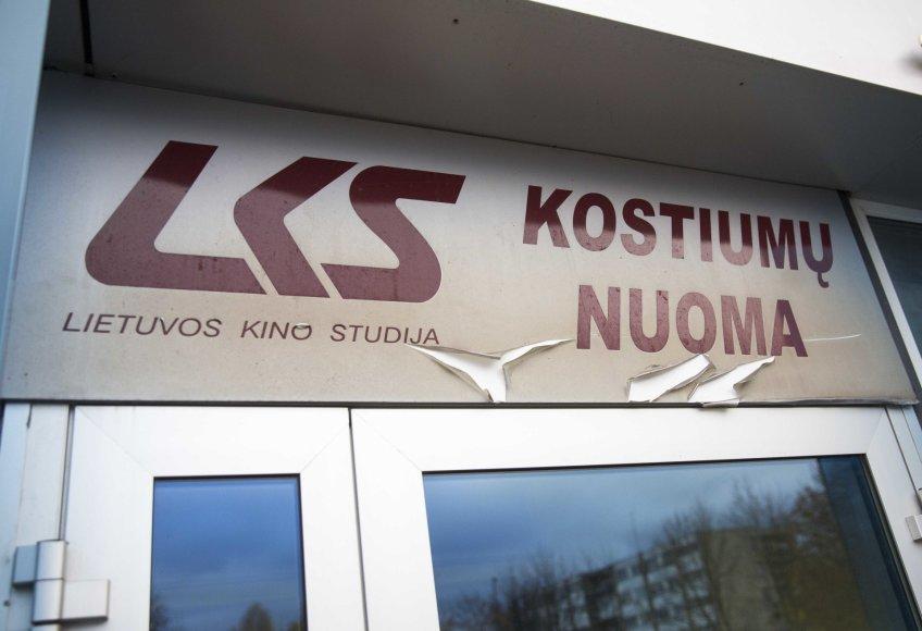 Luko Balandžio/15min.lt nuotr./Lietuvos kino studijos rekvizitas