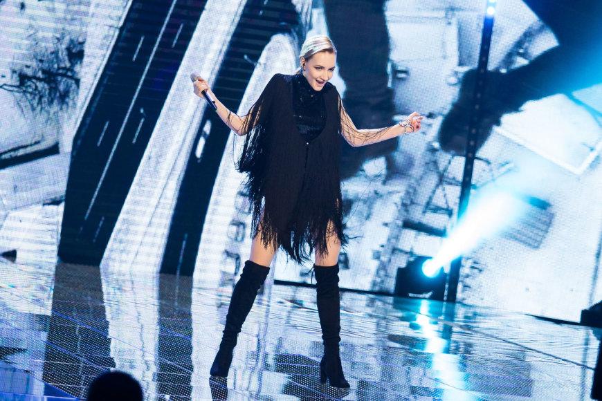"""Luko Balandžio / 15min nuotr./Pirmosios """"Eurovizijos"""" atrankos laida"""