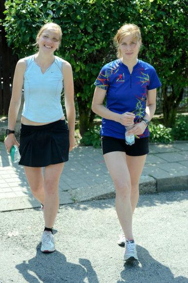Bėgikai finišavo prie Antakalnio kapinių