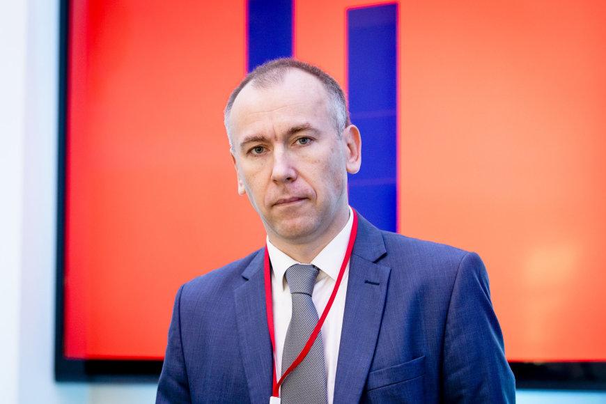 Luko Balandžio / 15min nuotr./Baltarusių žurnalistas Andrejus Dynko