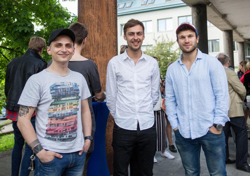 Luko Balandžio / 15min nuotr./Vaidas Baumila (dešinėje)