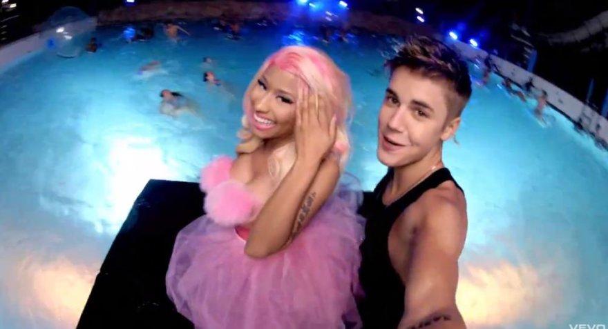 Nicki Minaj ir Justinas Bieberis