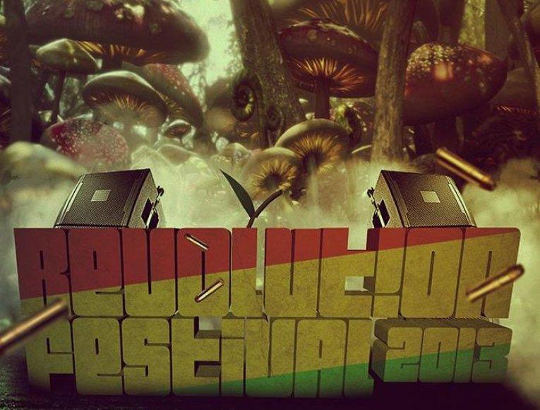 """Revolution festival"" plakatas"