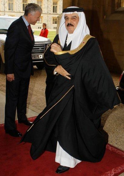 Bahreino karalius Hamadas bin Issa al-Khalifas