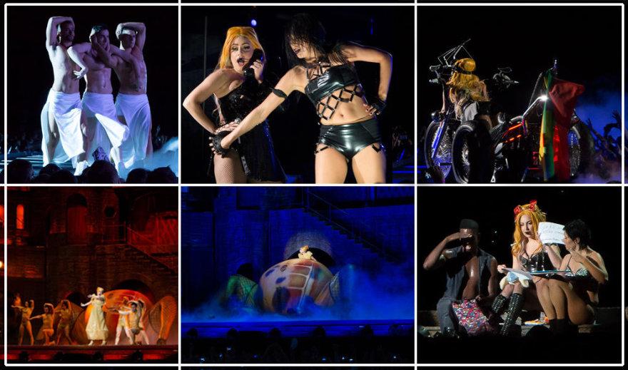 Lady Gagos koncertas Vilniuje