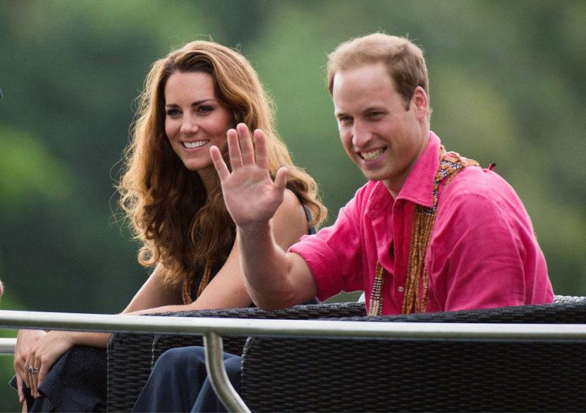 Princas Willliamas ir Kembridžo hercogienė Catherine Saliamono salose