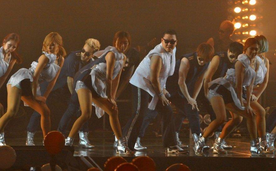 Psy koncertas Seule