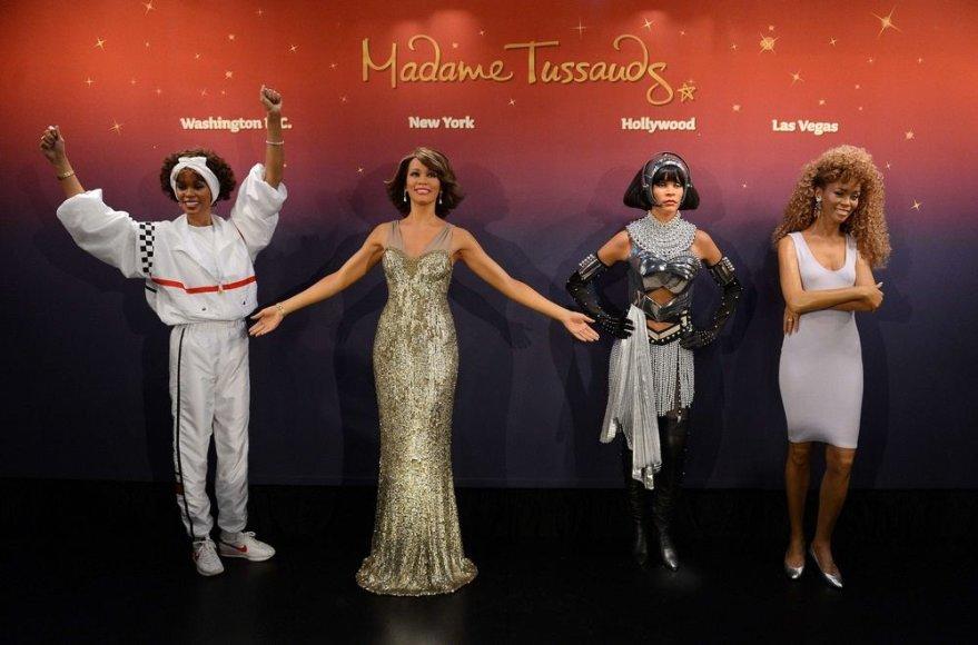 Whitney Houston vaškinės figūros