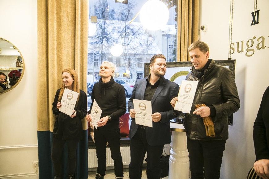 Viganto Ovadnevo/Žmonės.lt nuotr./M.A.M.A. 2016 nominantų paskelbimo ceremonijos akimirka