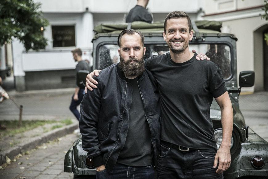 Viganto Ovadnevo/Žmonės.lt nuotr./Giedrius Paulauskas ir Marius Bieliauskas