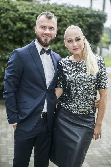 Viganto Ovadnevo/Žmonės.lt nuotr./ Gintas Vaičikauskas ir Indrė Stonkuvienė