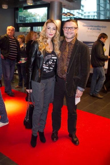 Daina Bosas (su vyru Antanu Bosu)