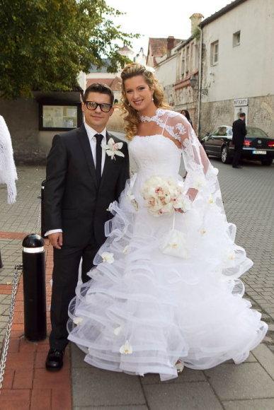 Deivio ir Renatos vestuvių akimirka