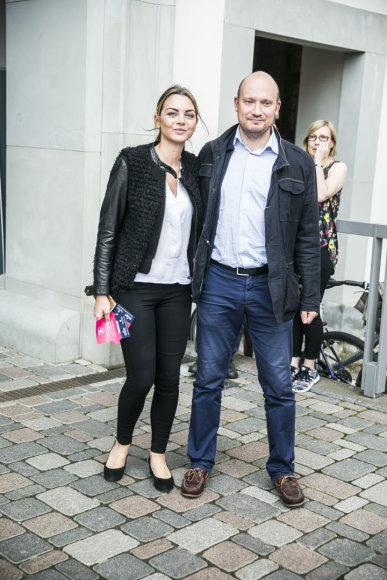 Viganto Ovadnevo/Žmonės.lt nuotr./Saulenė Chlevickaitė su vyru Jonu Survila