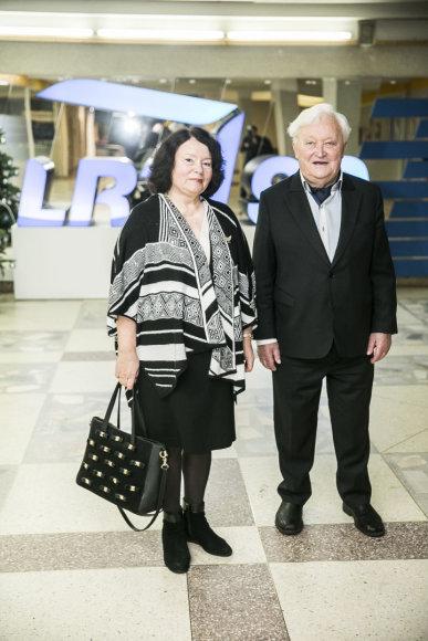Viganto Ovadnevo/Žmonės.lt nuotr./Algimantas Čekuolis su žmona Edita