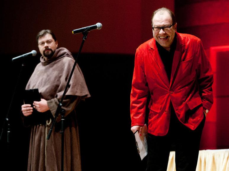 Raimondas Bingelis (kairėje) ir Raimondas Šilanskas