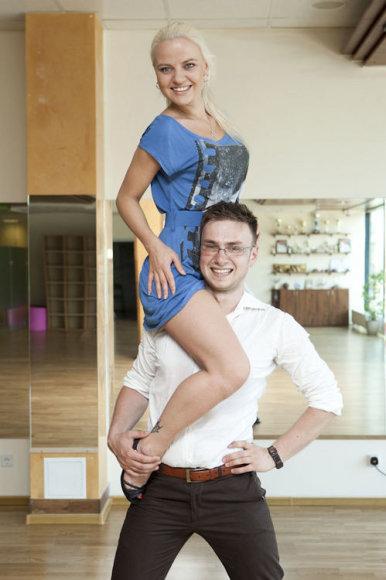 Renata Uzialkaitė ir  Vadimas Šuško
