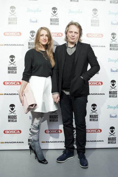 Nerija Makarskaitė ir Saulius Ivanauskas