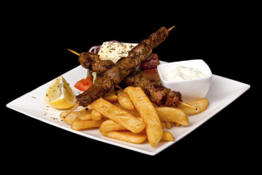 Graikiški kebabai