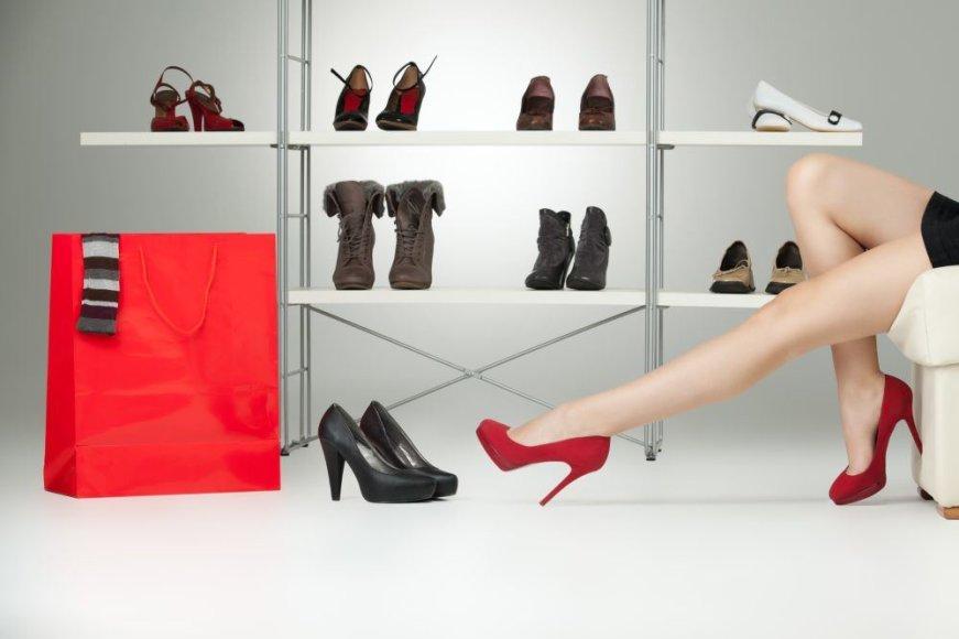 Kaip išsirinkti tinkamą batų dydį?