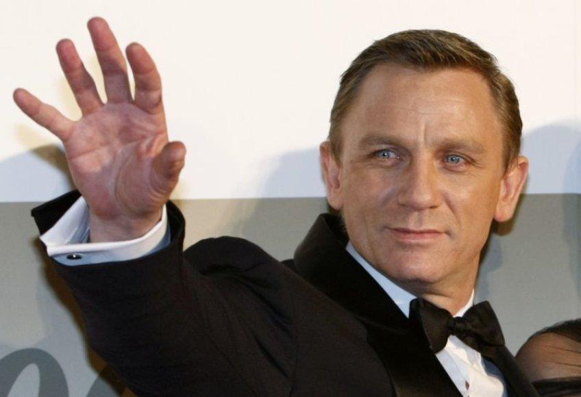 Danielis Craigas Džeimso Bondo vaidmenyje