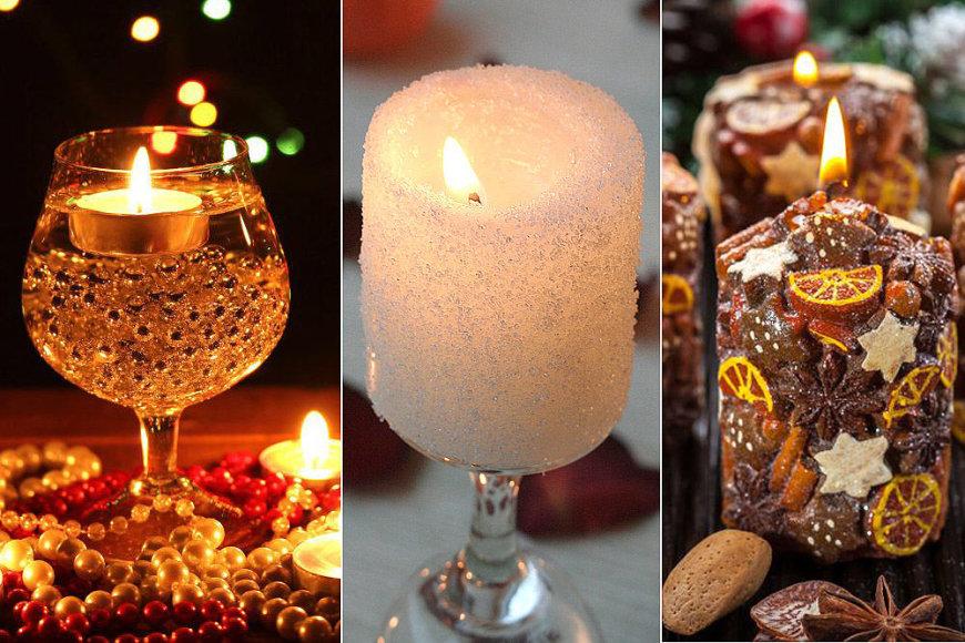 Žvakių idėjos