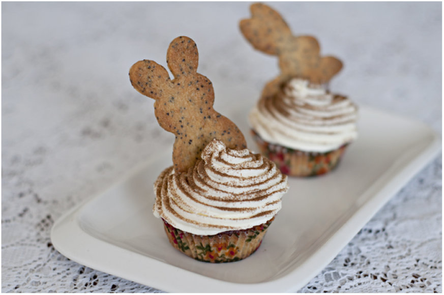 Sausainiais dekoruoti keksiukai