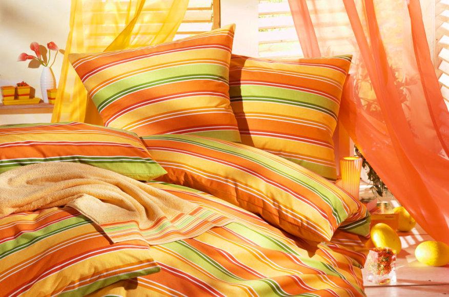 Miegamojo spalvos