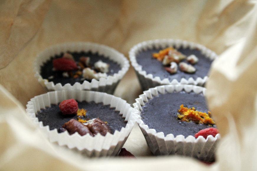 Sveikuoliški šokoladiniai saldainiai