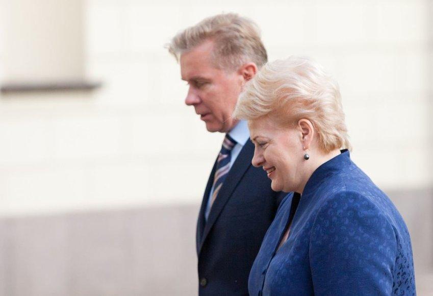Audronius Ažubalis, Dalia Grybauskaitė