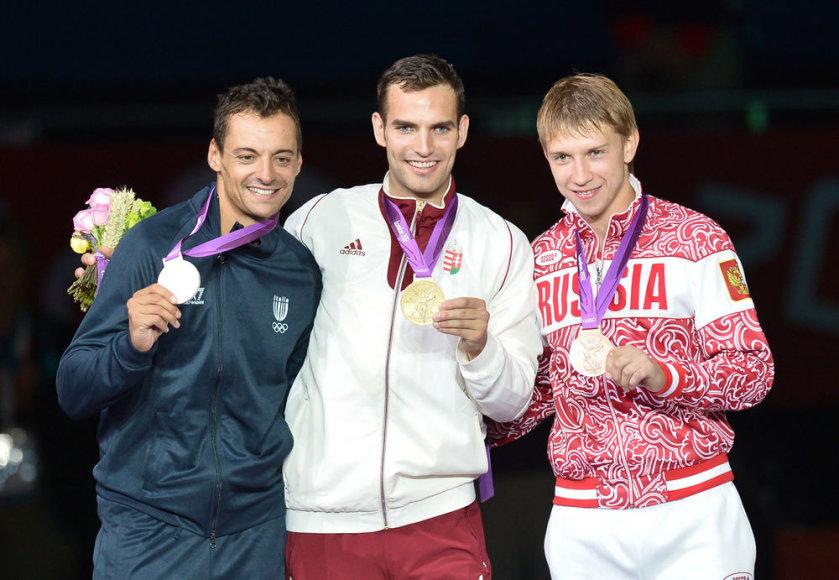 Aronas Szilagyi, Nikolajus Kovaliovas, Diego Occhiuzzi