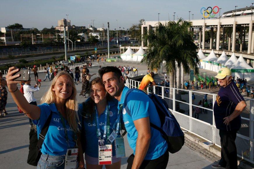 """""""Scanpix"""" nuotr./Rio de Žaneiras laukia olimpinių žaidynių atidarymo"""