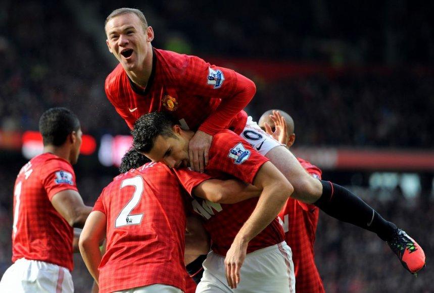 Wayne'as Rooney ir Robinas van Persie