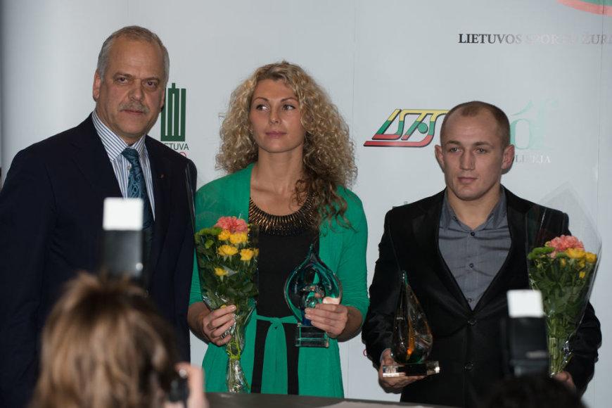 Margarita Čiuplytė ir Sergejus Grečicho