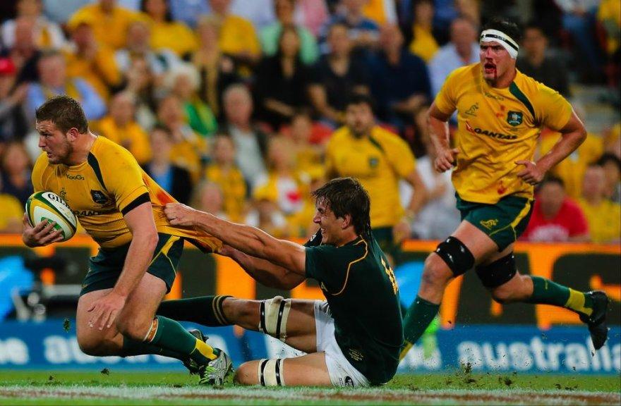 PAR – Australija rungtynių akimirka