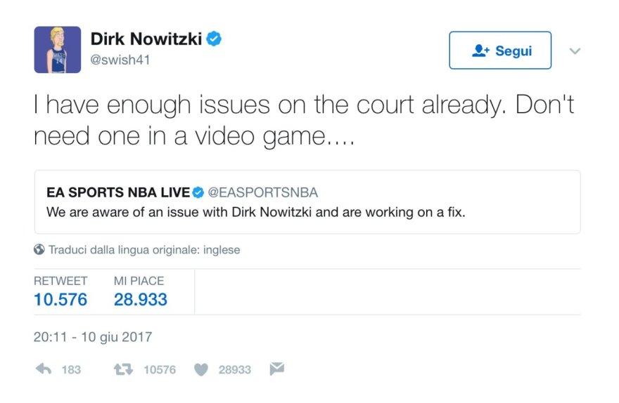 Dirko Nowitzkio pokštas