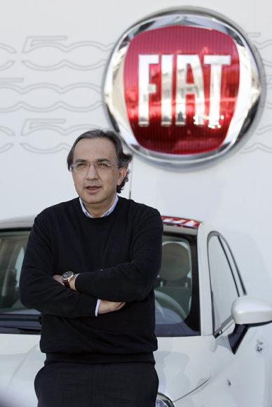 Fiat generalinis direktorius Sergio Marchionne