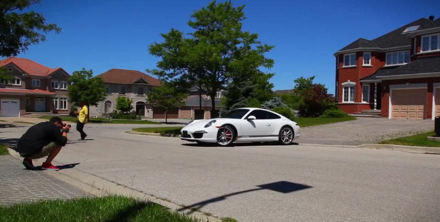 Porsche reklama