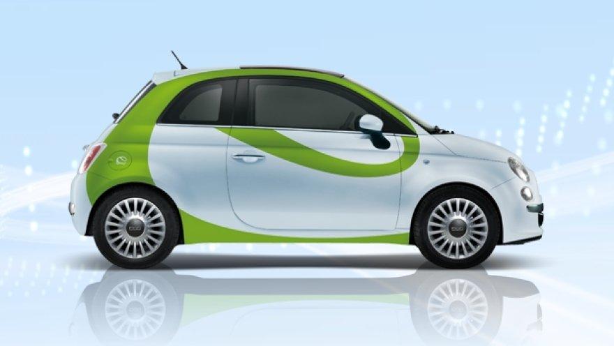 Fiat 500E elektromobilis