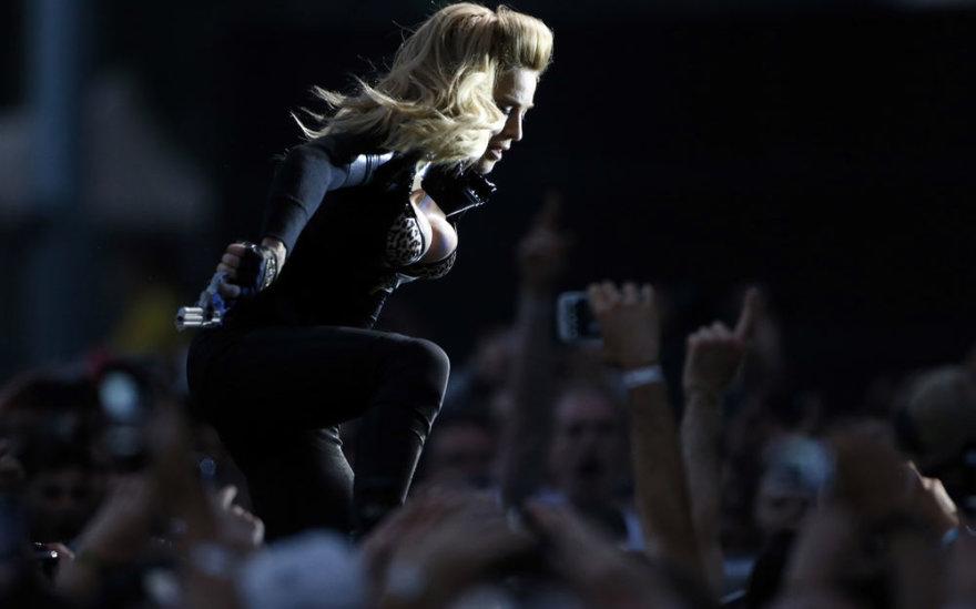 Madonna, Sankt Peterburgas, piketas